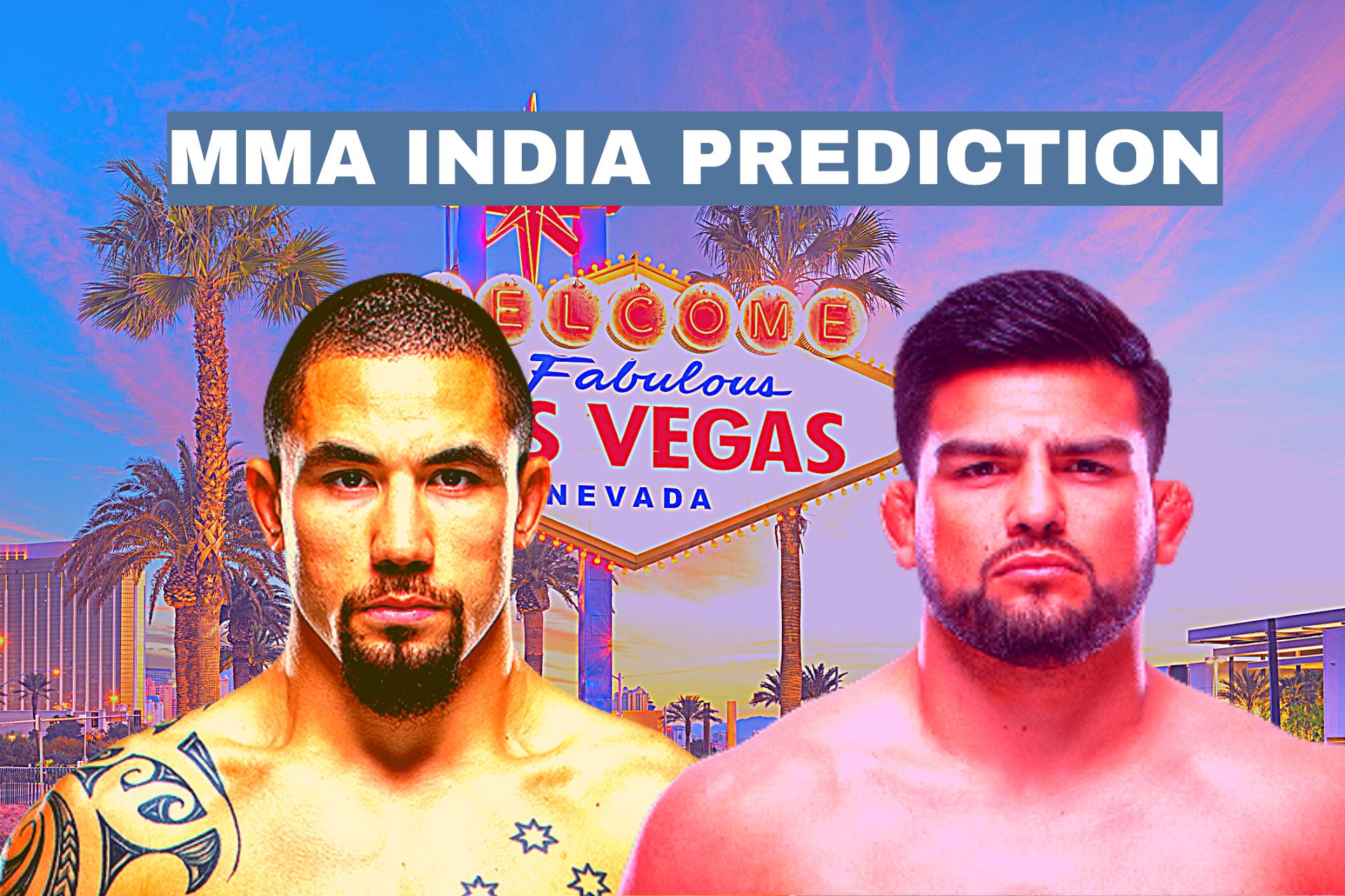 UFC Vegas 24: Whittaker vs Gastelum Betting Odds and Prediction - whittaker