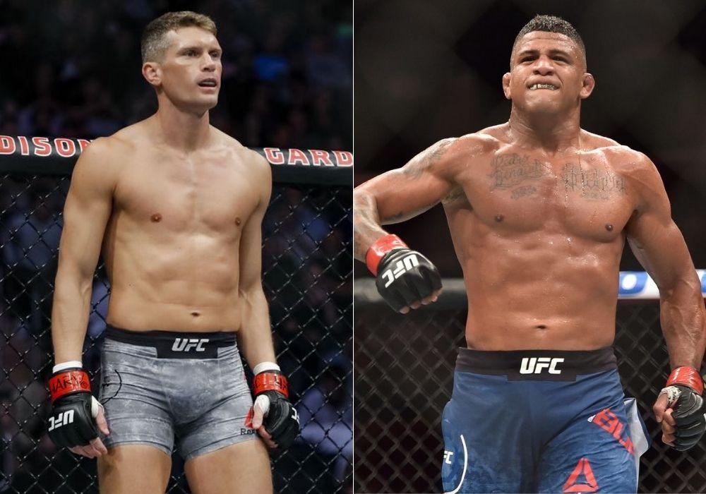 Gilbert Burns vs Stephen Thompson official for UFC 264 - Thompson