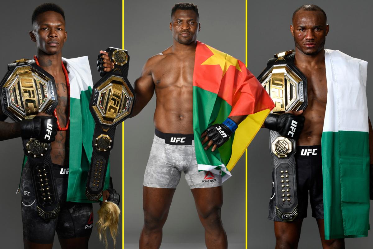 UFC champions in Africa