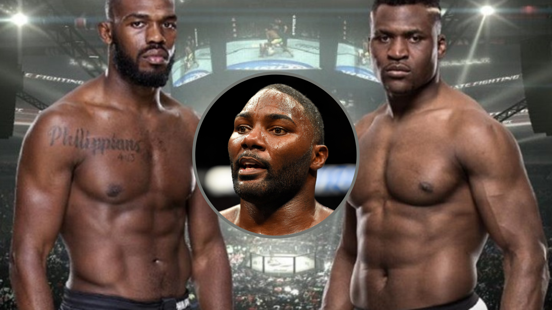 Anthony Johnson on Francis Ngannou vs jon Jones