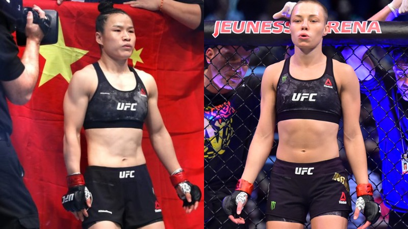 Weili Zhang vs Rose Namajunas, Communism