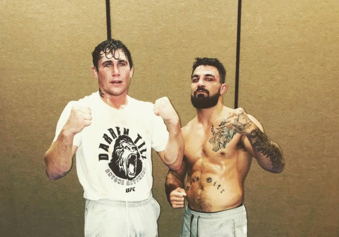 Mike Perry and Darren Till