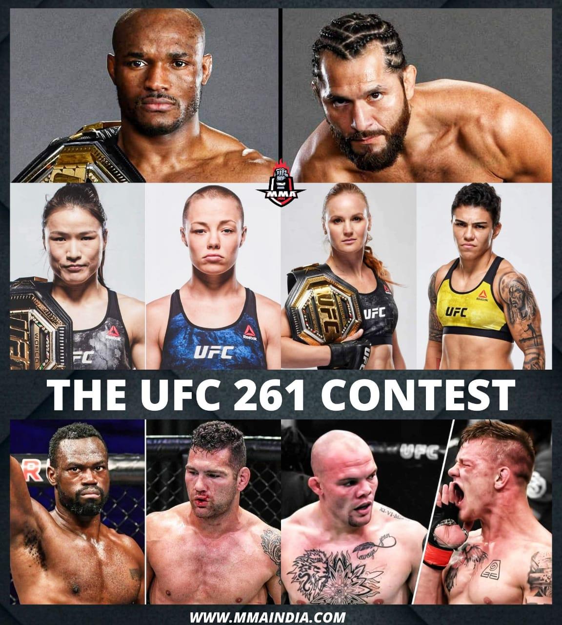 THE UFC 261 CONTEST | MMA INDIA SHOW - UFC 261