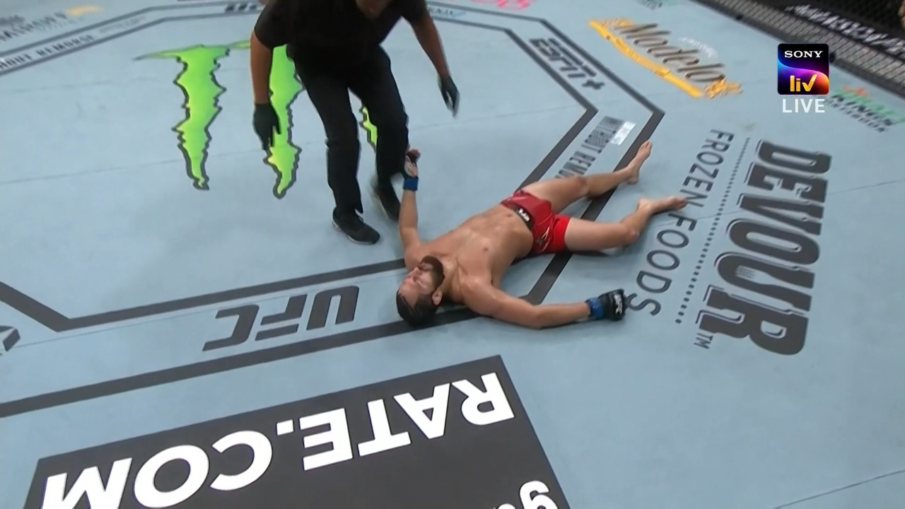UFC 261: Kamaru Usman knocks out Jorge Masvidal in Round 2 - Usman