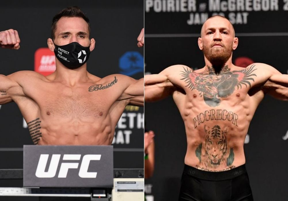 Michael Chandler ready to fight Oliveira at UFC 262 and McGregor at UFC 264 - Chandler