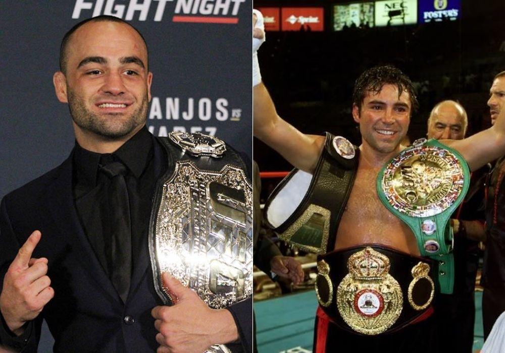 Eddie Alvarez says he is in serious talks about boxing Oscar De La Hoya - Alvarez