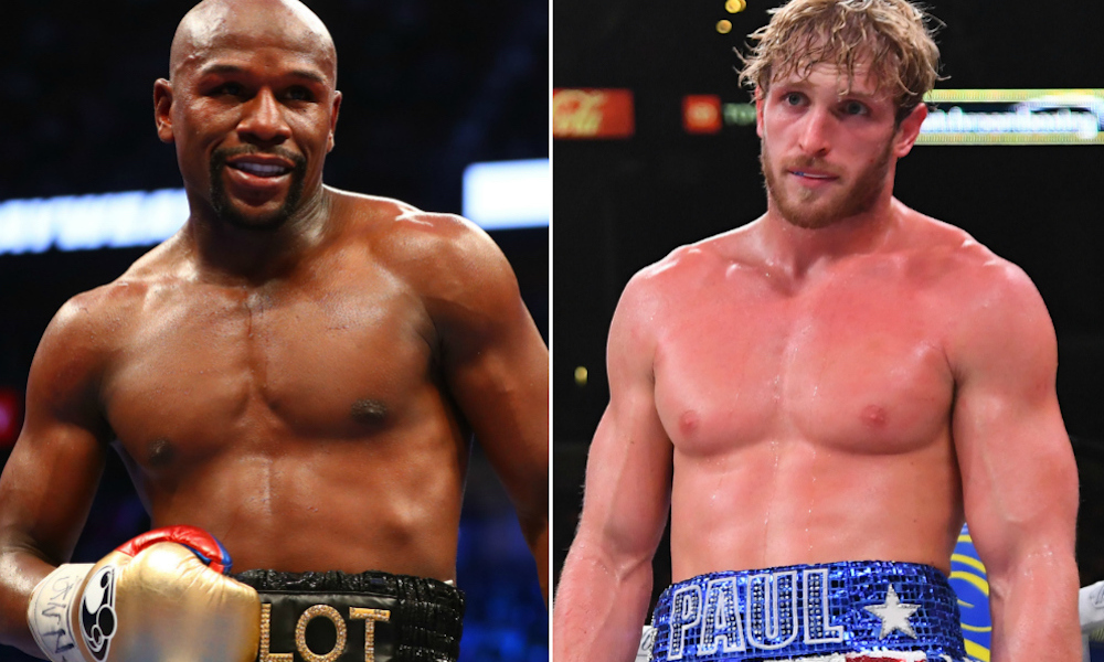 Floyd Mayweather vs Logan Paul
