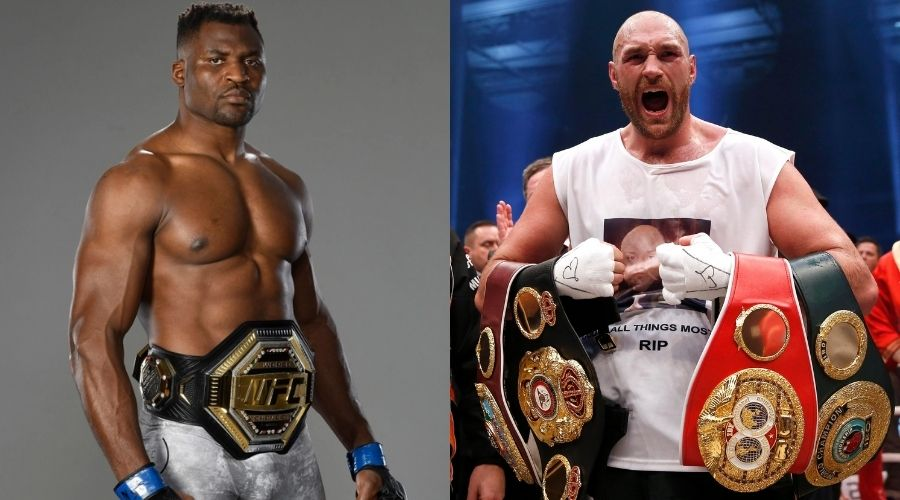Francis Ngannou open to fighting Tyson Fury in a boxing match - Francis