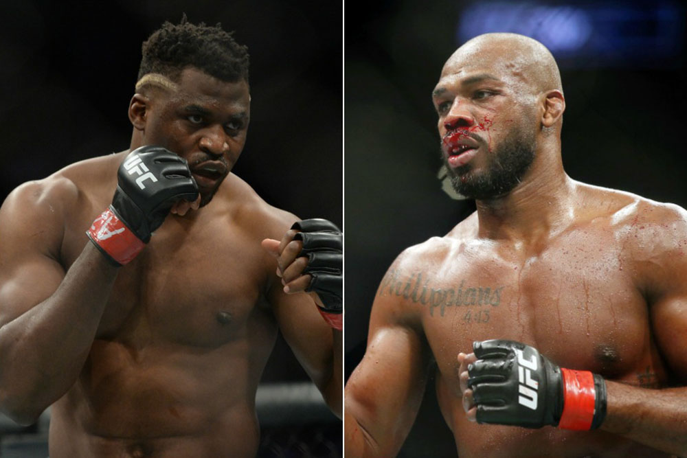 Jon Jones on Francis Ngannou: 'I just have to get through Round 1 and I win that fight' - Jon Jones