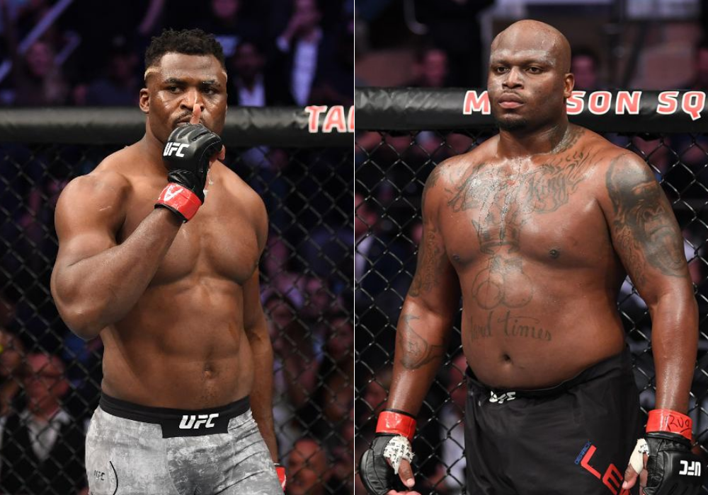 "Dana White says Francis Ngannou will ""probably"" fight Derrick Lewis next - Lewis"