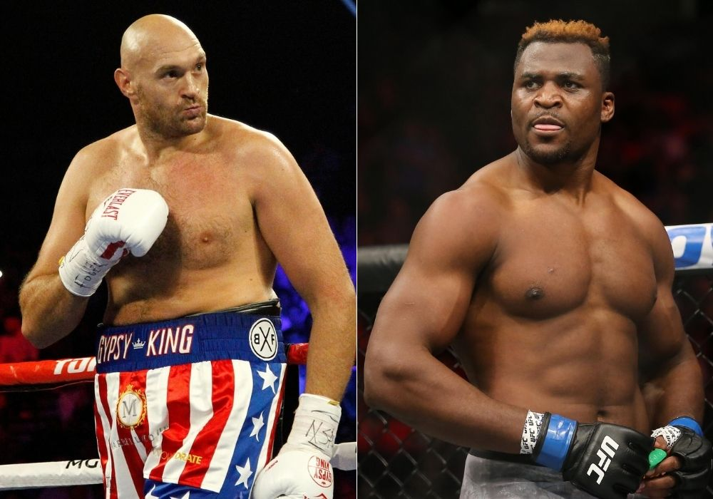 Tyson Fury says he will roast Francis Ngannou, UFC champion responds - Francis