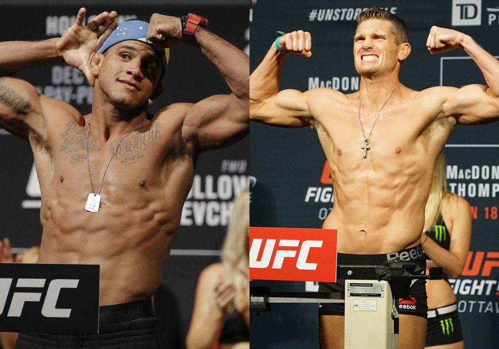 Gilbert Burns set to fight Stephen Thompson at UFC 264 - Thompson