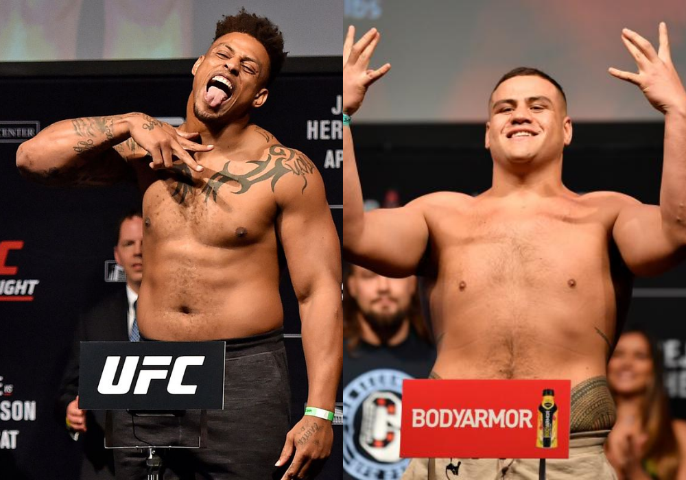Greg Hardy calls for a fight against Tai Tuivasa at UFC 264 - Hardy