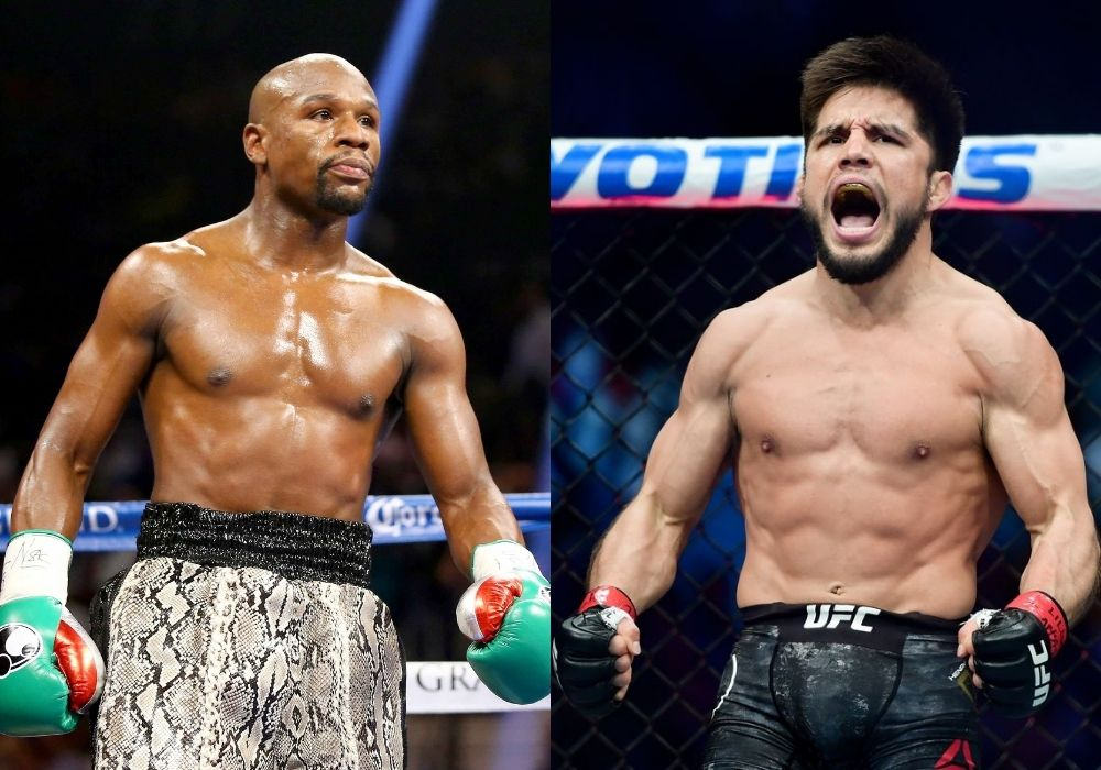 Henry Cejudo hints at a fight against Floyd Mayweather - Cejudo
