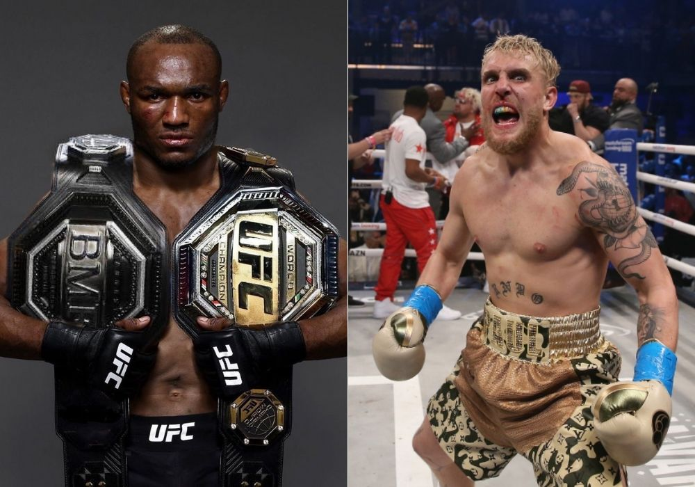 Jake Paul Says 'Challenge Accepted' After Kamaru Usman Calls Him Out - Paul