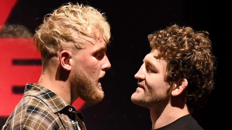 Ben Askren and Jake Paul