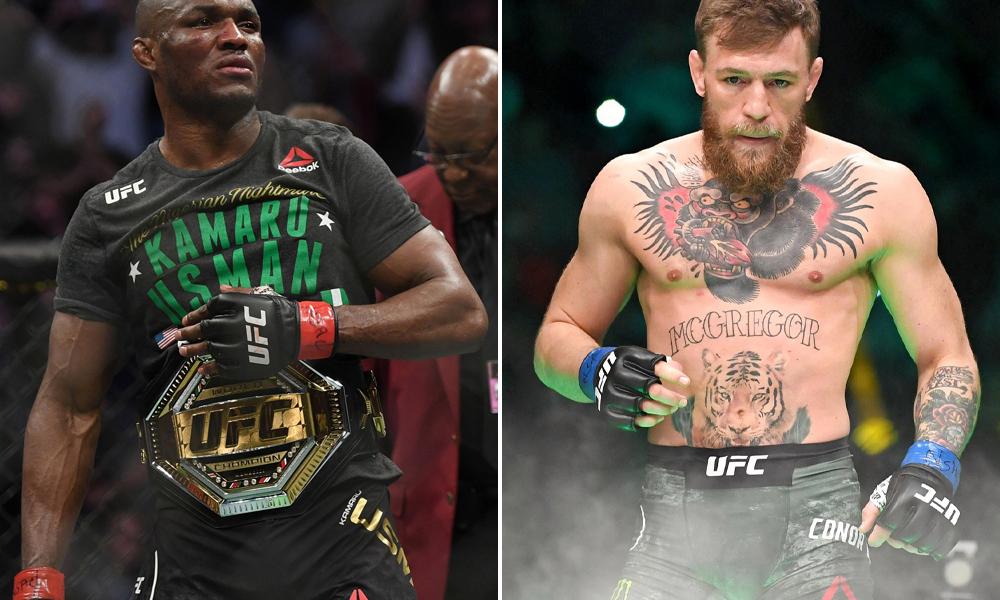 Kamaru Usman vs Conor McGregor vs Ali Abdelaziz