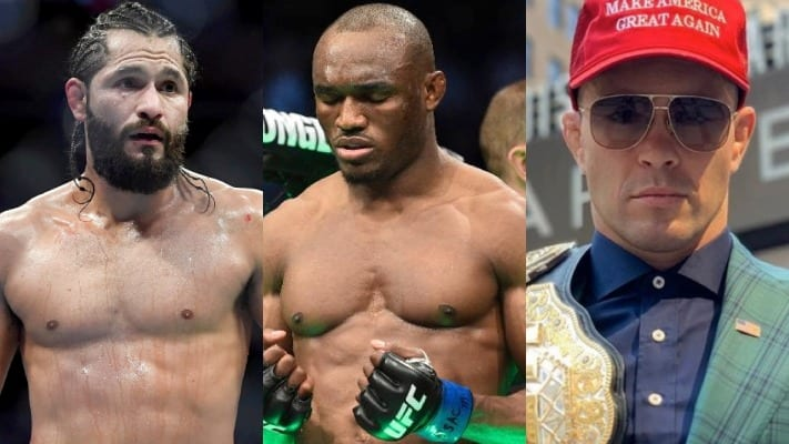 Colby Covington to be the backup for Kamaru Usman vs Jorge Masvidal at UFC 261