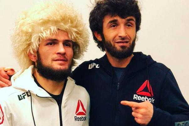 Khabib Nurmagomedov names Zabit Magomedsharipov as the best Featherweight in the world - Zabit