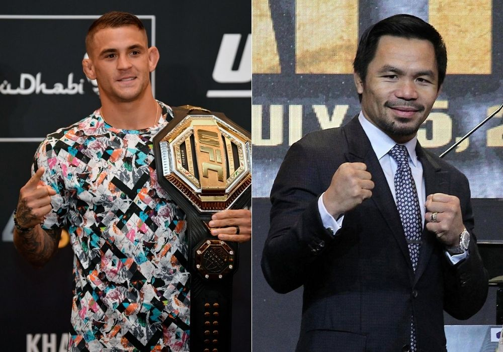 Dustin Poirier teams up with Manny Pacquiao to achieve UFC 264 charity goal - Poirier
