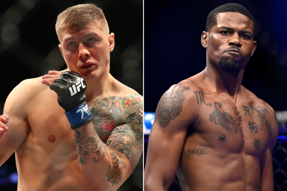 Marvin Vettori to fight Kevin Holland at UFC on ABC 2 on April 10 - Kevin Holland