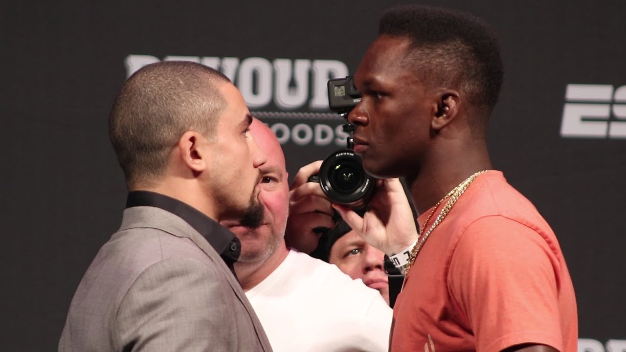 Robert Whittaker reveals why he turned down fight against Israel Adesanya at UFC 263 - Robert Whittaker