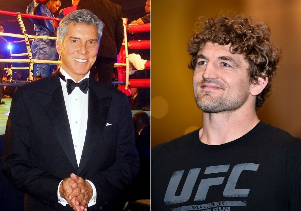Ben Askren gets an apology from Michael Buffer for having name said wrong in Jake Paul fight - Buffer