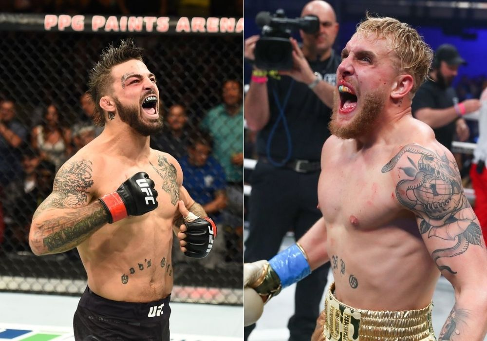 Dustin Poirier wants Jake Paul to fight Mike Perry next - Paul