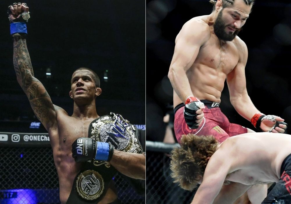 Adriano Moraes credits teamate Jorge Masvidal for the knee that knocked out Demetrious Johnson - Moraes