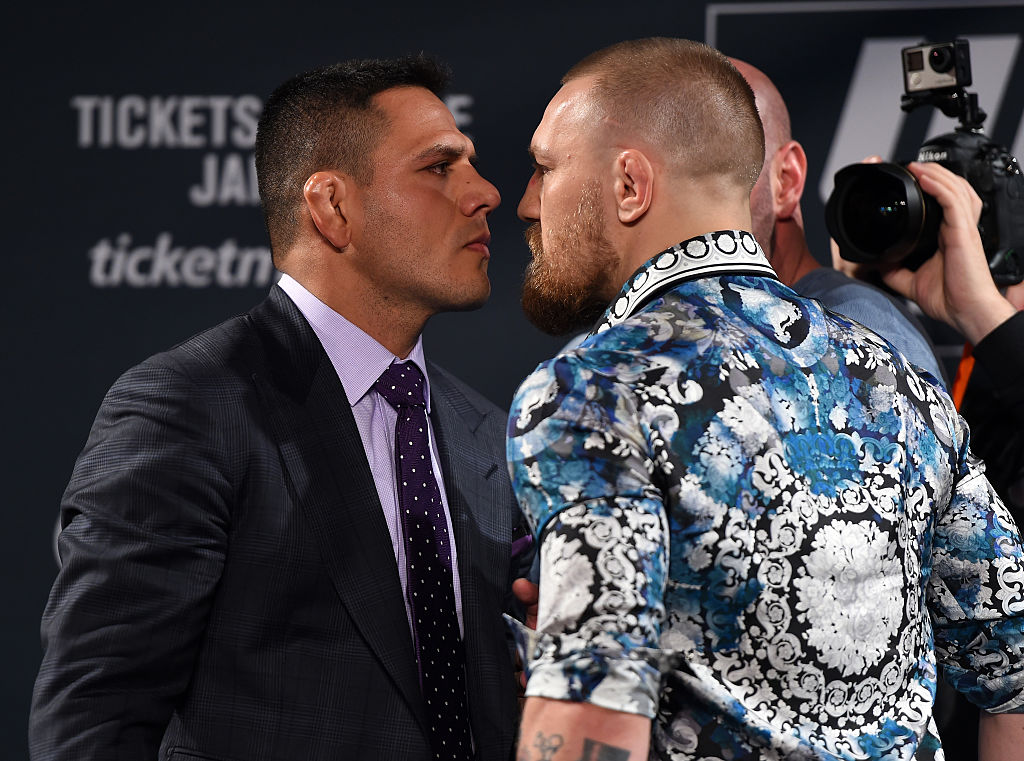 Rafael Dos Anjos offers to fight Conor McGregor at UFC 264 on July 10 - Anjos