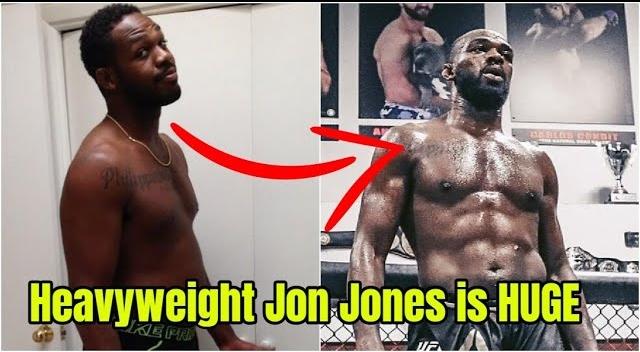Jon Jones, Francis Ngannou, heavyweight