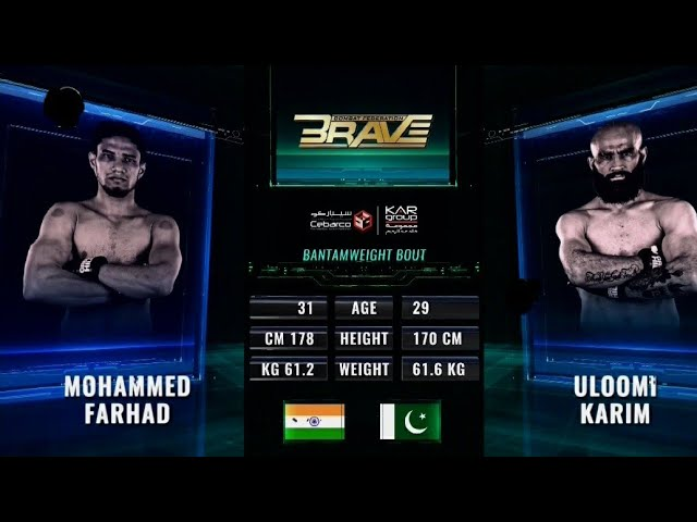 FULL FIGHT VIDEO: Mohammed Farhad brutally knocks out Uloomi Karim in Second round - farhad