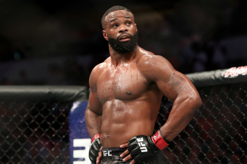 Former champion Tyron Woodley removed from the UFC rankings - Tyron