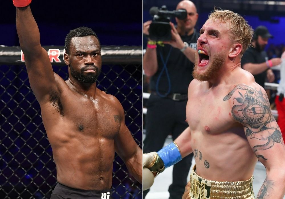 Uriah Hall says he would kill Jake Paul in a fight - Hall