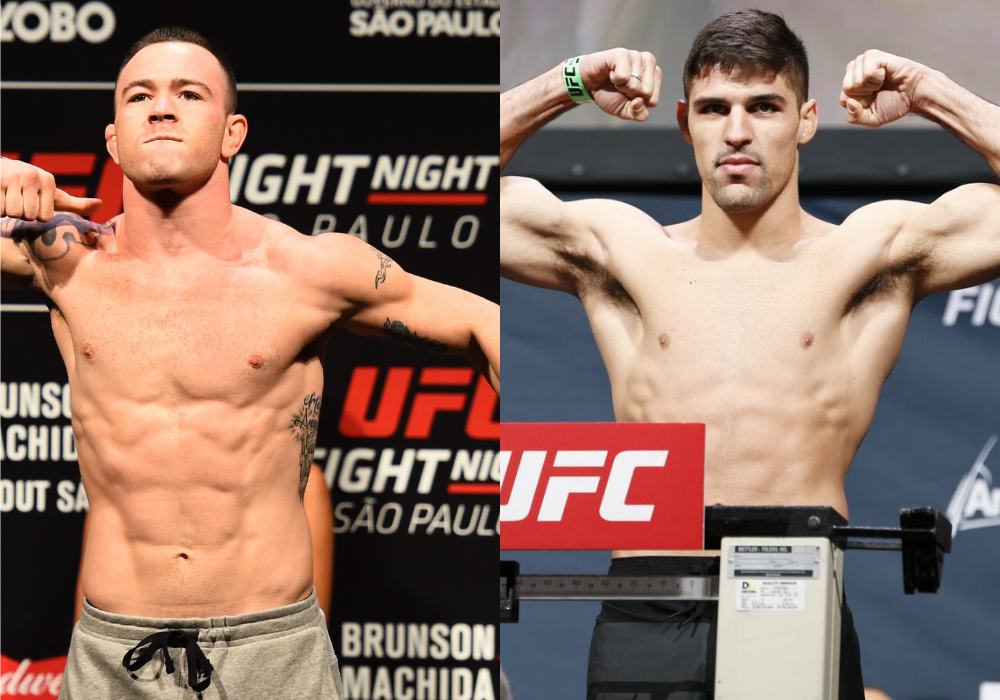 Vicente Luque calls out former interim champion Colby Covington - Luque