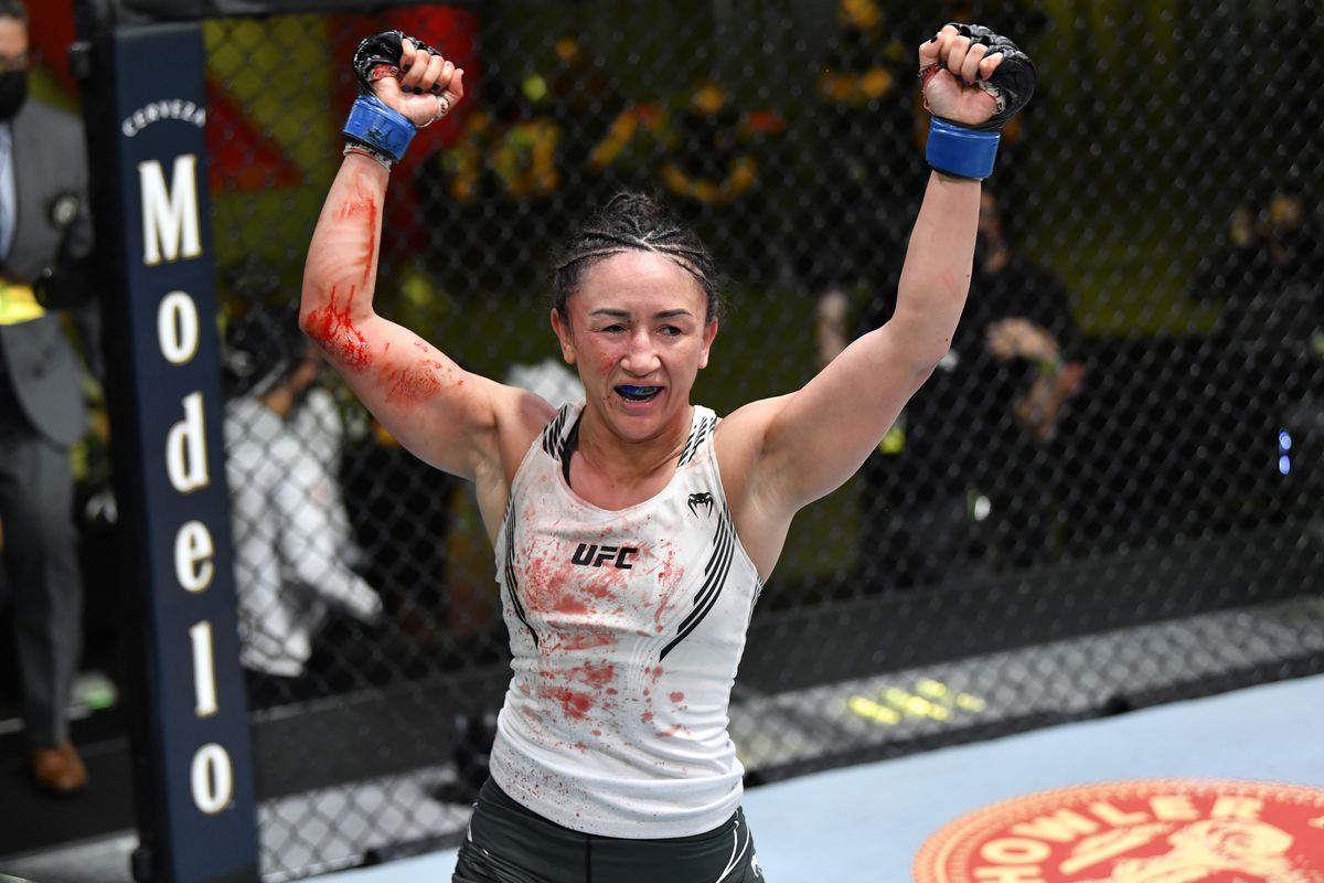 """Dana White on Carla Esparza wanting title shot: """"Statement made. Message received. We see you!"""" - Esparza"""