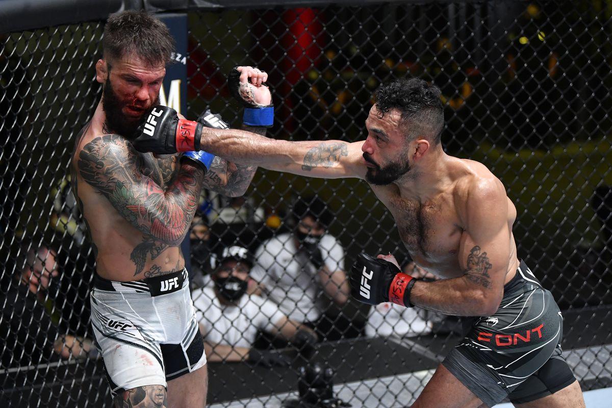 UFC Vegas 27 Results: Rob Font Defeats Cody Garbrandt via unanimous decision - Font