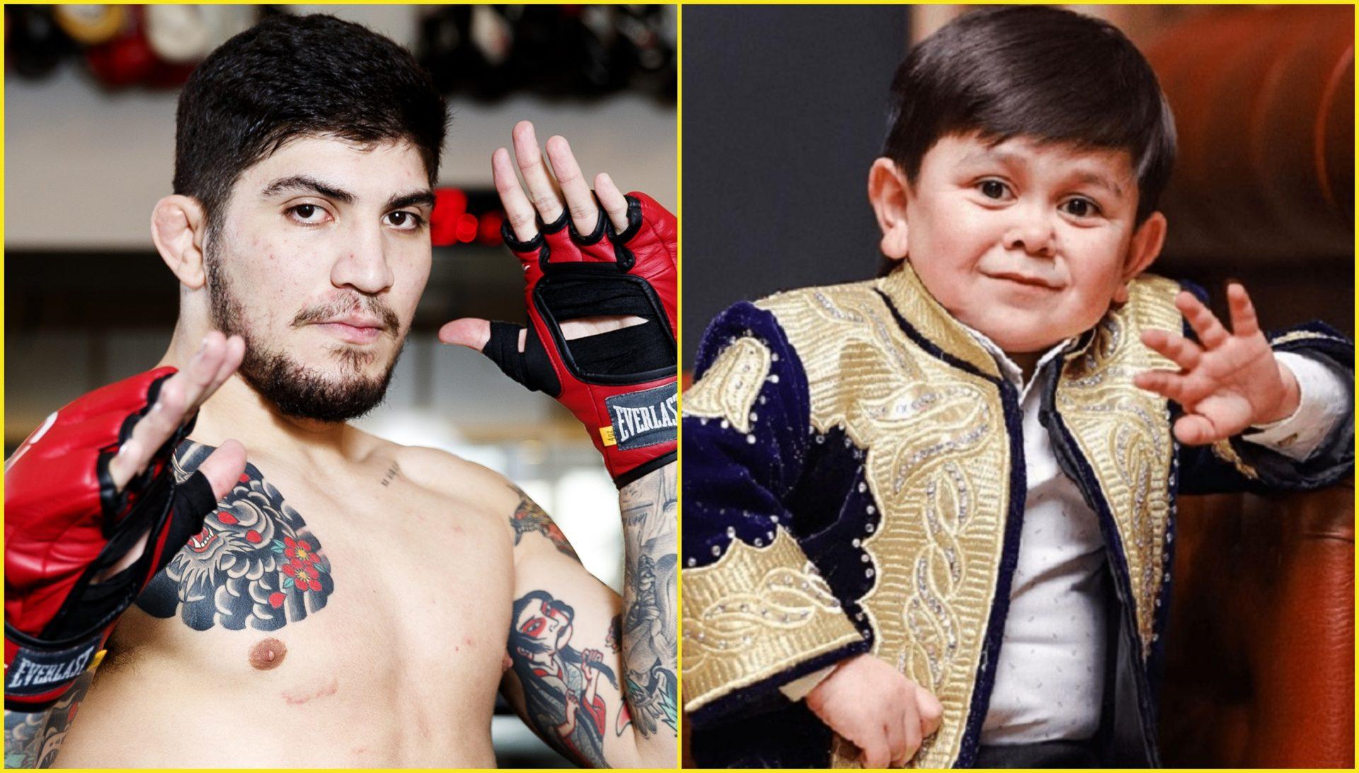 Armenian MMA fighter Dillon Danis rooting for Tajikistan's Abdu Rozik in his fight against Hasbulla - Danis