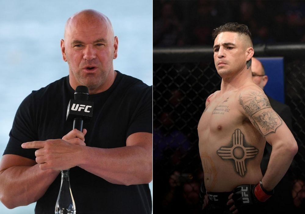 Dana White reacts to UFC releasing Diego Sanchez - Diego
