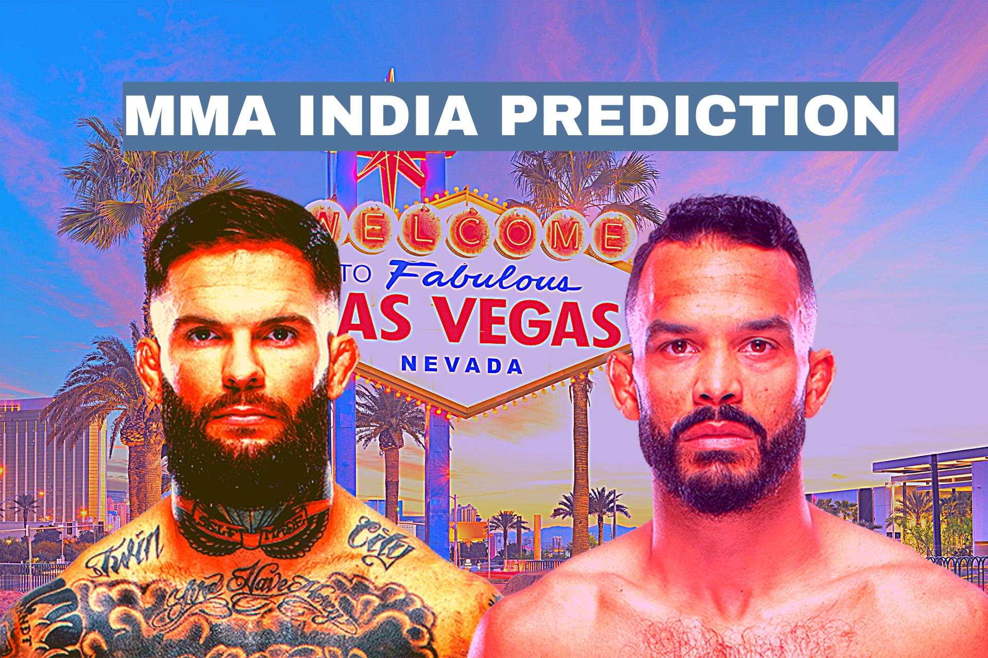 UFC Vegas 27: Font vs Garbrandt Betting Odds and Prediction - Garbrandt