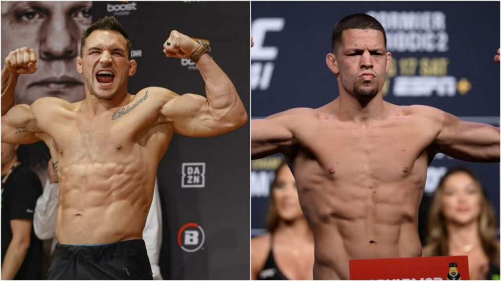 Michael Chandler vs Nate Diaz