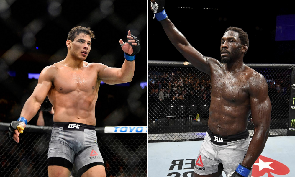Paulo Costa to fight Jared Cannonier at UFC Fight Night on August 21 - Costa