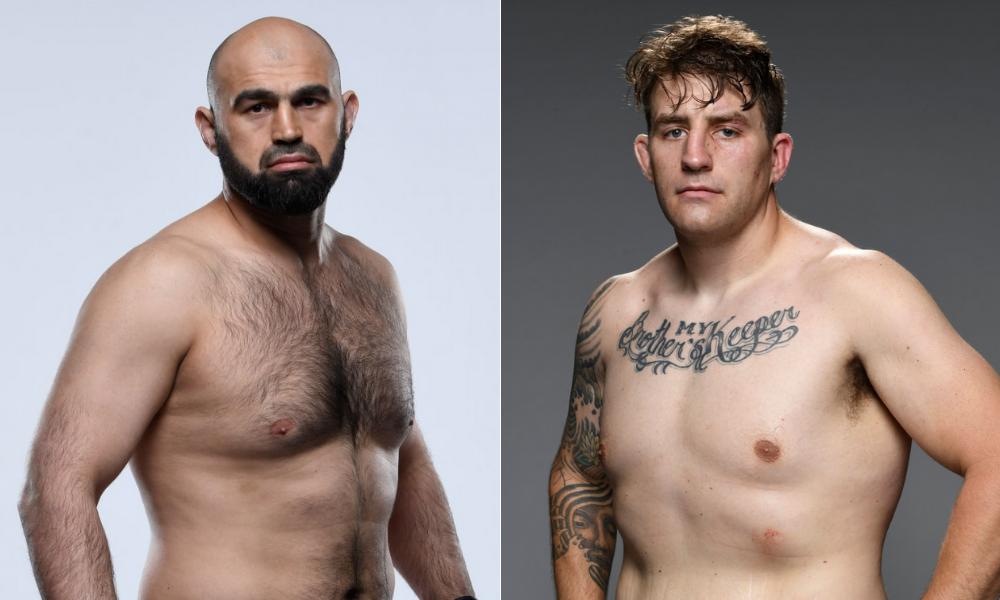 Shamil Abdurakhimov to fight Chris Daukaus at UFC Fight Night on July 24 - Shamil
