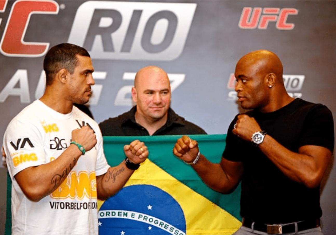 Anderson Silva praises Vitor Belfort as both MMA legends transition into boxing - Silva