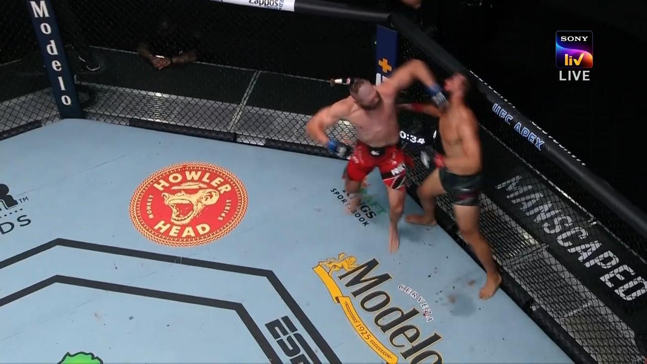 UFC Vegas 25: Jiri Prochazka brutally knocks out Dominick Reyes in Round 2 - Reyes
