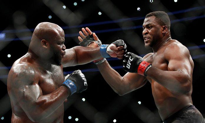 Francis Ngannou vs Derrick Lewis