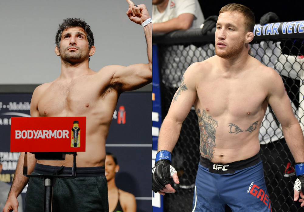 """Beneil Dariush says he will try and """"avoid"""" Justin Gaethje fight as long as possible like Darren Till did with Yoel Romero - Beneil"""