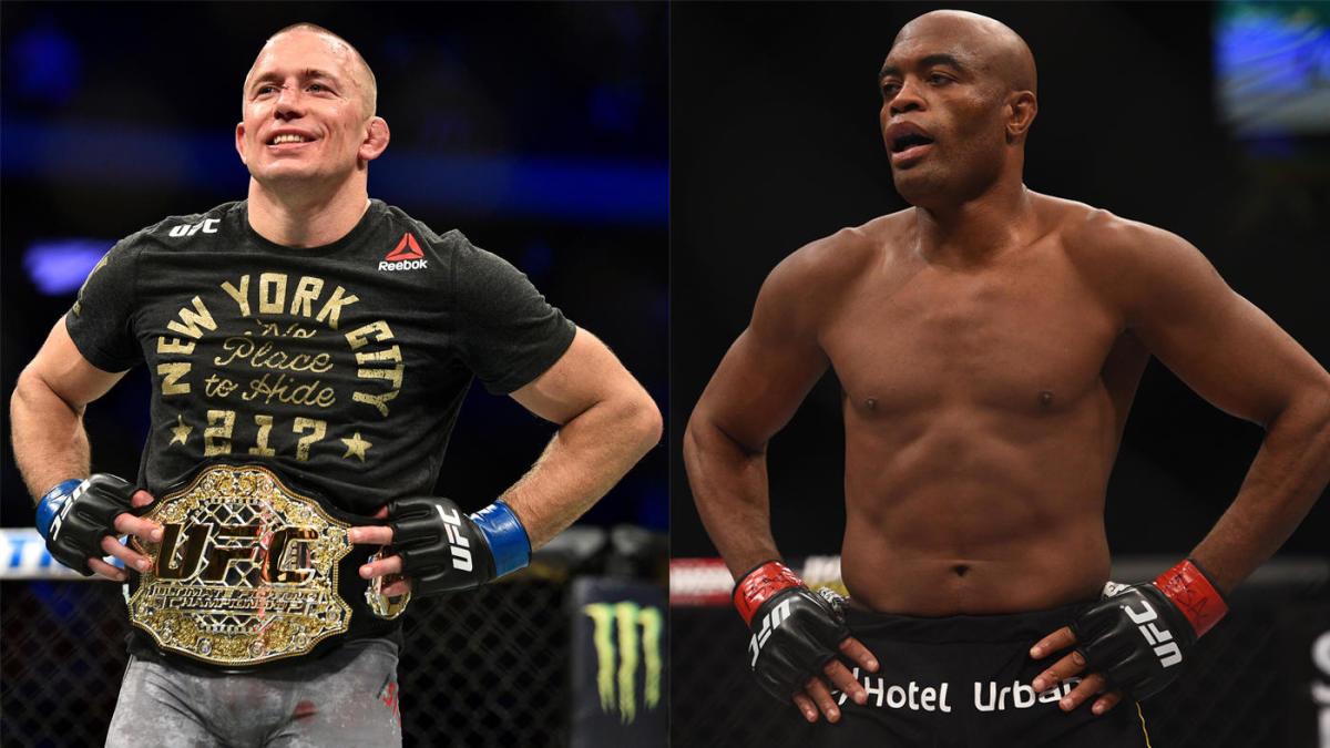 Anderson Silva slams UFC for blocking GSP from boxing Oscar De La Hoya - GSP