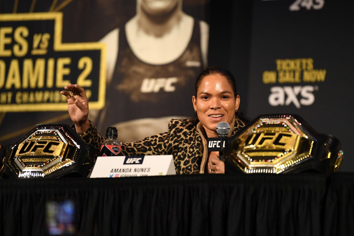 Amanda Nunes says featherweight division will be open as long as she is champion - Amanda