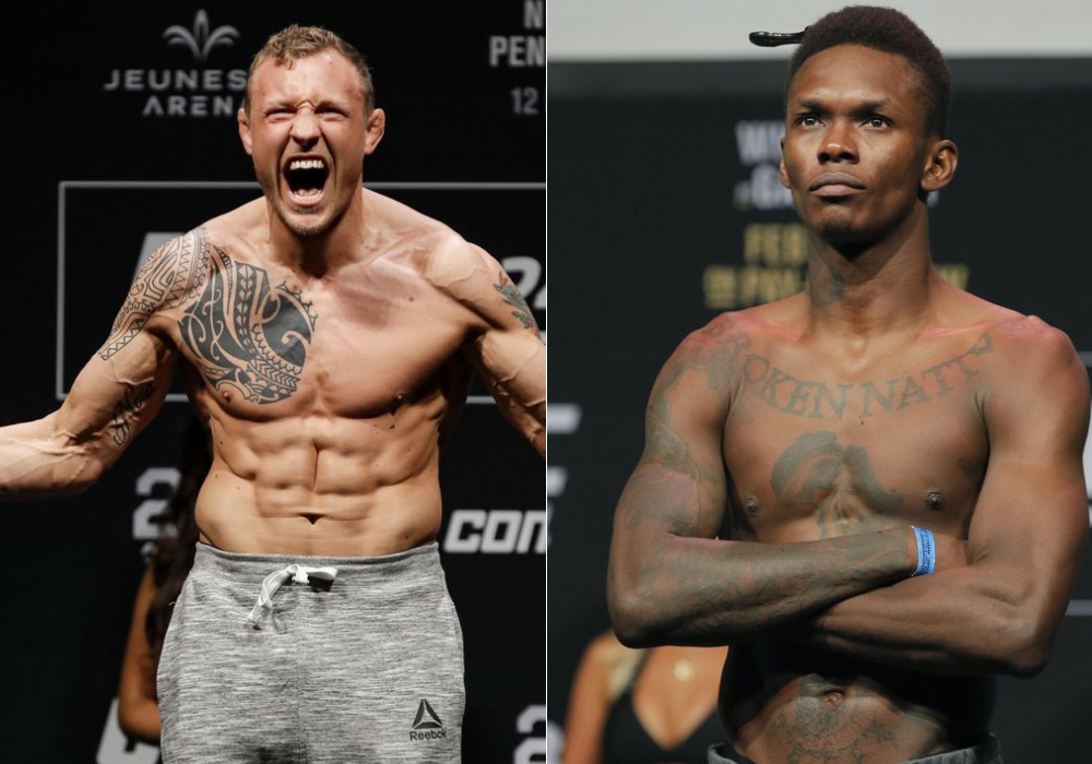 Jack Hermansson says he is a very tough matchup for Israel Adesanya - Jack